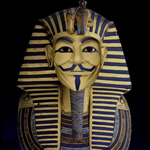 Guy Fawkes Pharaoh: source, earsucker.com.