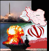 Iran war e-book montage