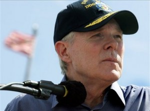 Secretary of the Navy Ray Mabus.