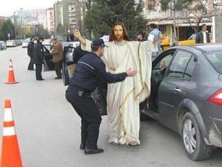 JesusGettingFrisked