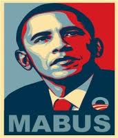 "He is not the only candidate, but his name does spell out ""Mabus"". Phoenetically spell his Kenyan family name -- Oubama, or Ubama. Next, you get -- maabu. Replace the redundant letter ""a"" -- mabu. You are allowed one completely new letter -- Mabus."