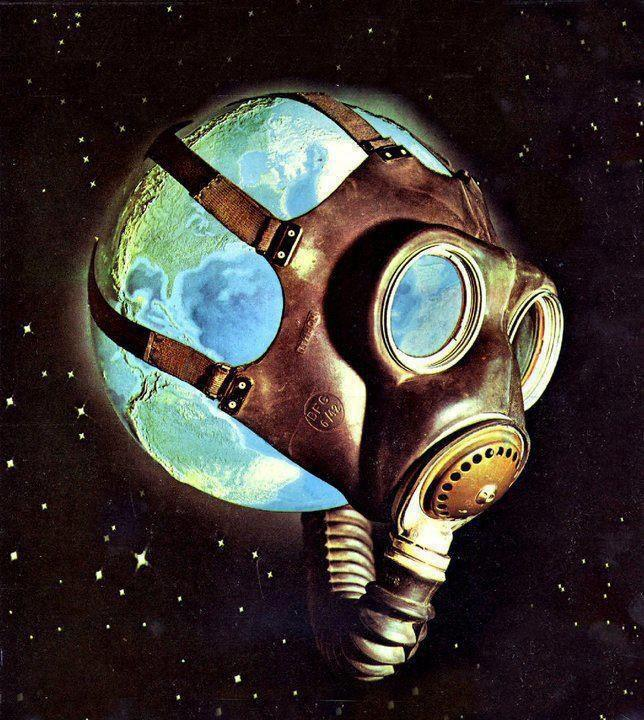 EarthGasMaskGlobalWarming