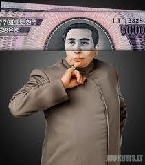Kim Il-Sung, Grandfather Dr. Evil.
