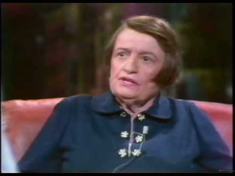 Ayn Rand being interviewed by Tom Snyder.