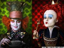 """Congress and the Executive Branch get """"curiouser and curiouser"""", says Alice in Washington Land. (Stills from the motion picture """"Alice in Wonderland""""."""