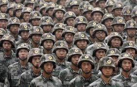 ChineseOnParadeKevlarHelmets