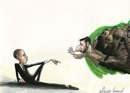 ObamaAsAdamDeal-AhmadinejadFlippingNose