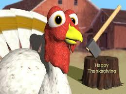 ThanksgivingTurkeywithAxe