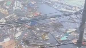 TyphoonHaiyanStreetDebrisFlood