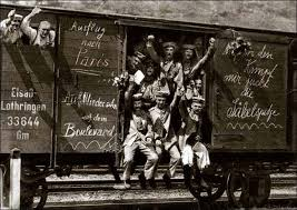 WWI-1914-GermanTroopTrain