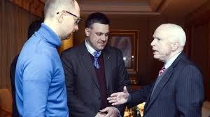 Ukraine-McCain-Oleh Tiahnybok
