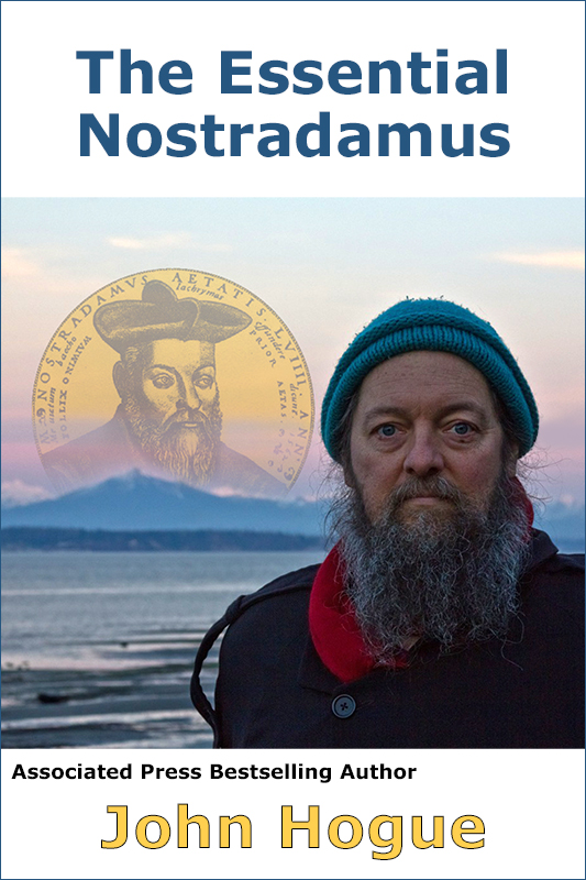 NEW HOGUE BOOK! Planned for release (Nostradamus willing) this Wednesday!