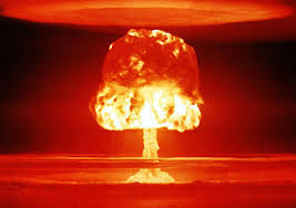 Stand a Hopi drinking gourd on its neck and it becomes a three-D metaphor for an atomic mushroom cloud!