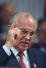 Mikhail Gorbachev 1989.