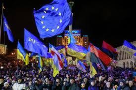 UkraineEUFLags