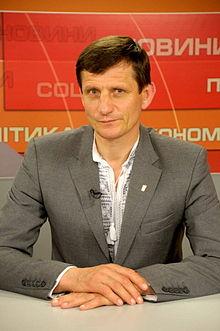 Oleksandr Sych of Svoboda Party.