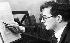 Shostakovich-Composing