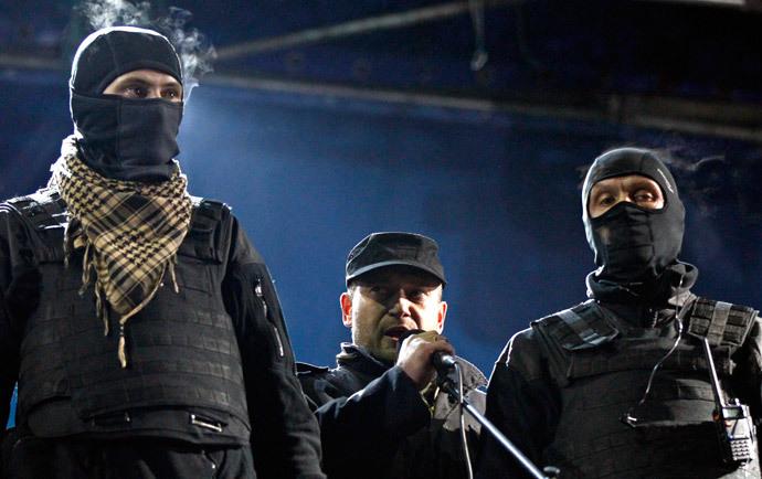 Right Sector leader Yarosh.
