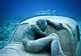 GlobalWarming-Statue-FetalManCarHood