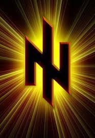 Svoboda's Nazi-style rune symbol.