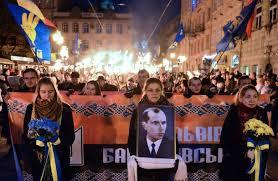 UkrainianTorchlightBanderaHeadofMarch