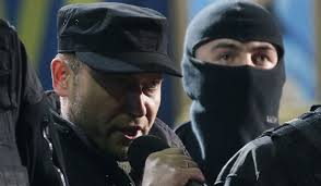 Yarosh, head of Right Sector, orchestrated the violent overthrow of the elected Yanukovych government in Feb. 2014.