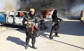 ISISonTheMarchPastFlamingCars