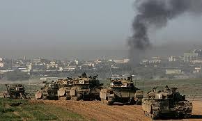 Gaza2014-IsraeliTanksColumn