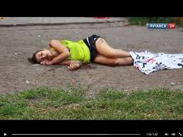The civilian dead of Donetsk.