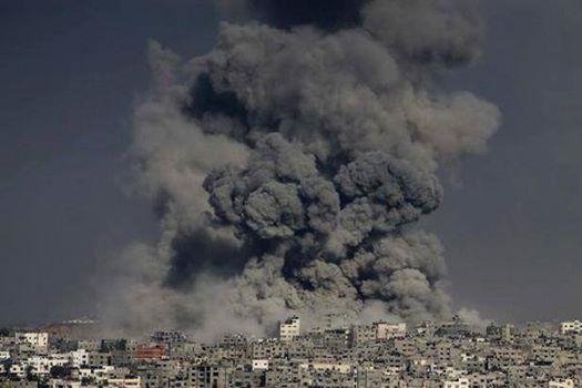 GazaHugeSmokeCloud