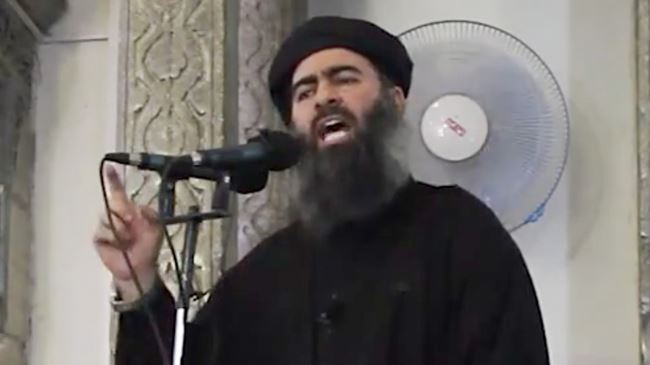 Caliph Ibrahim Abu Bakr al-Baghdadi.