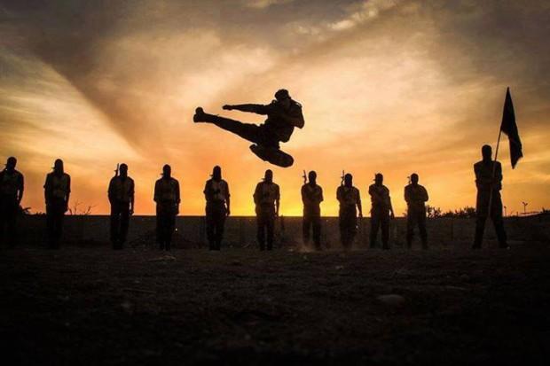ISIS-KickboxerSilhouette