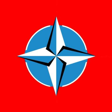 What on Earth prompted the designers of the NATO flag to hide a Nazi Swastika inside the star. Unconscious intent? Stupidity?