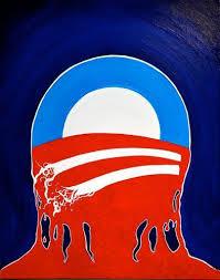 ObamaSymbolMelting