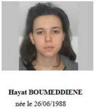 Hayat Boumeddiene.