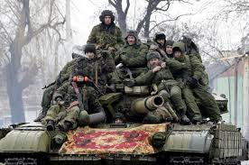 Donbass soldiers.