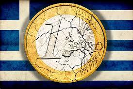 GreekFlagCrackedEuroCoin