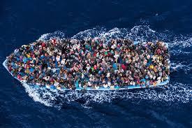 LibyanRefugeesBoatFromAbove