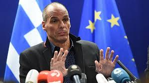 Yanis Varoufakis the Greek Financial Minister.