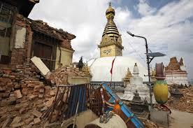 NepalQuake-EyesStupaRuins