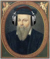 "Cannon ""channeled"" these headphones to Nostradamus so he could learn to speak English to her. (I kid, I kid!)"