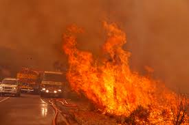 Another weird weather flash point, literally. Record breaking heatwaves in Spain this month turned deadly with early mega fires.