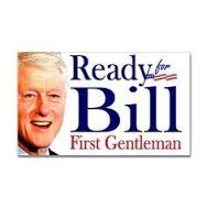 BillClintonPosterFirstGentleman