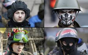 What Right Sector wears to war.