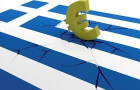 GreekFlagCrackedbyEuro