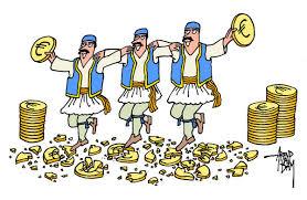 Grexit-DancingbreakingEuroPlates