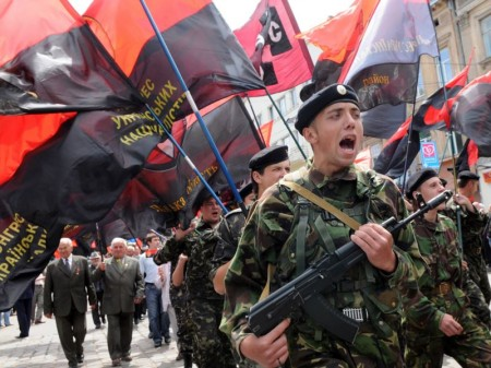 Right Sector Militia no incorporated into the Ukrainian Army officially.