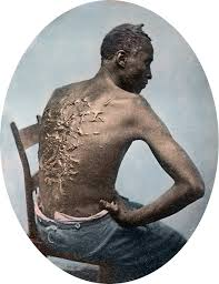BlackSlaveWhippingScars