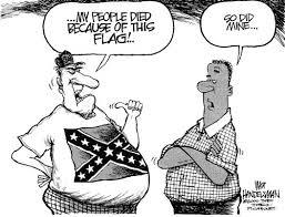 CartoonMyPeopleDiedForThisFlag