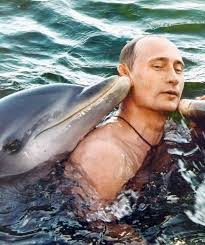 PutinKissedByDolphin